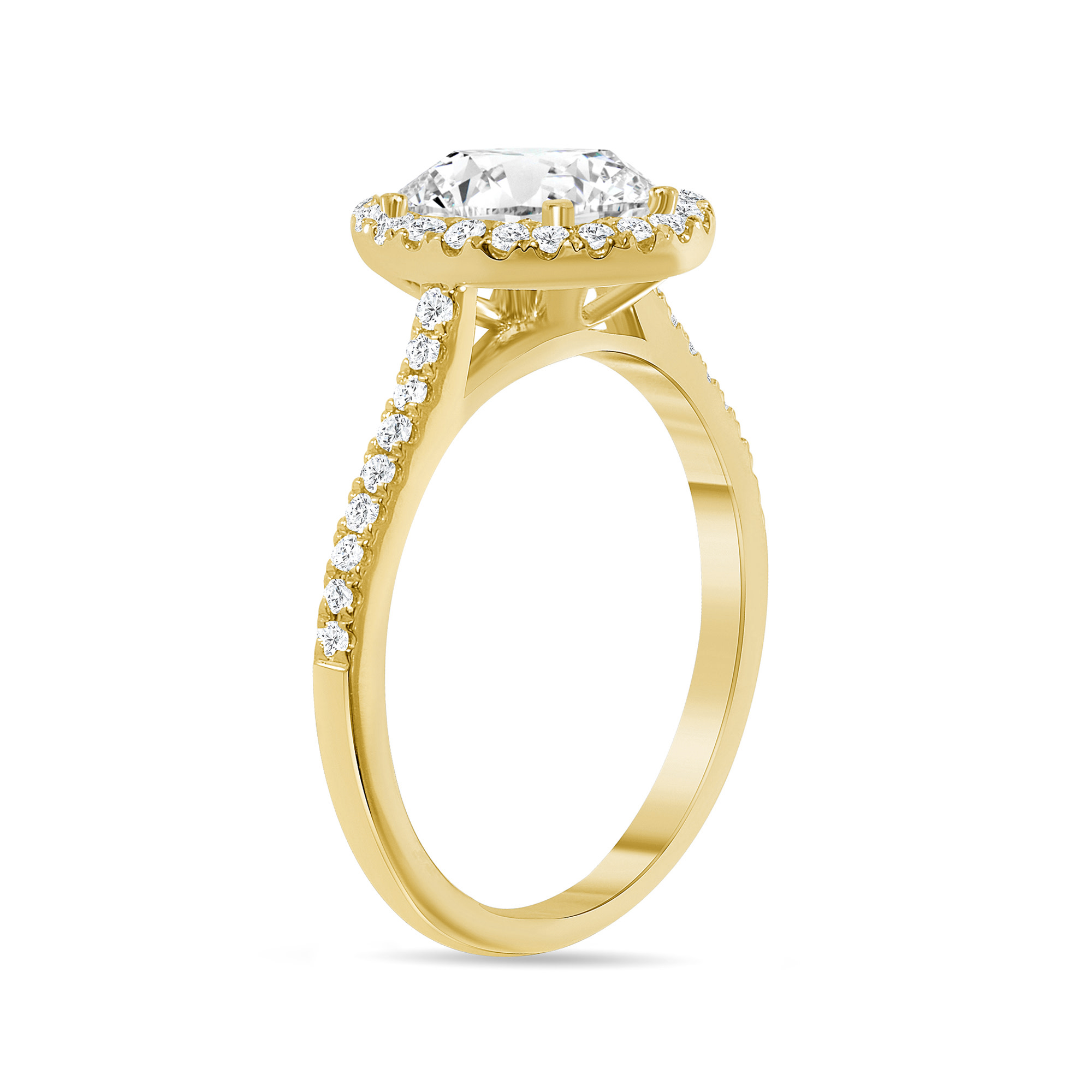 oval halo diamond engagement ring gold