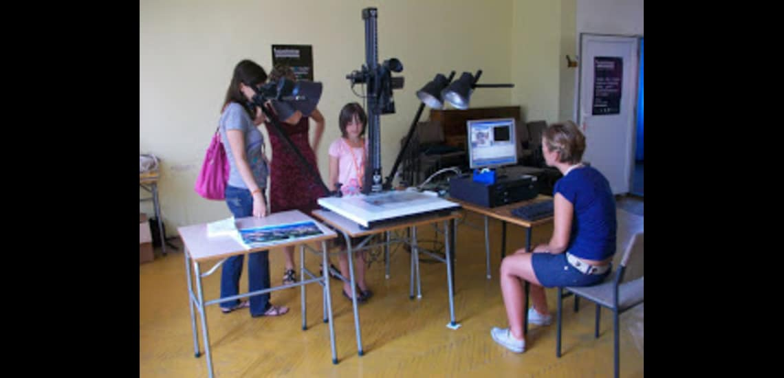 Cinetheque of Bologna in Tuzla with educational programmes for children.