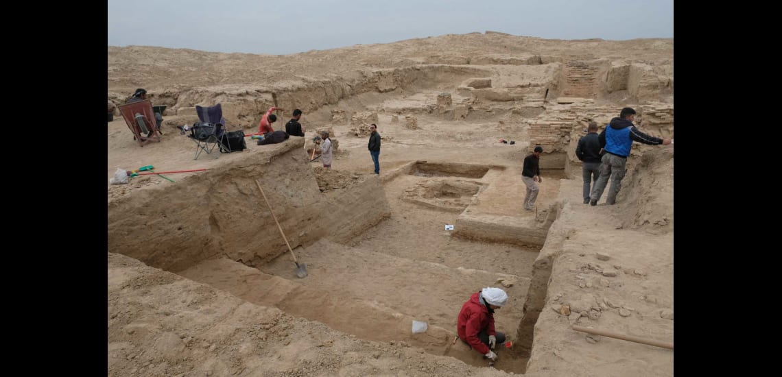 EDUU fieldwork activities at Tulul Al-Baqarat (Al-Kut, Wasit) and archeological survey in Qadisiyah region