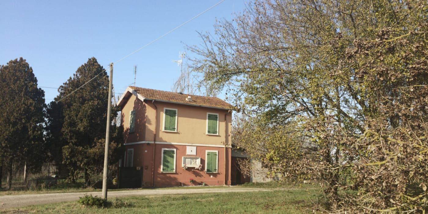 Il casello 23 a Boretto, come visibile oggi.
