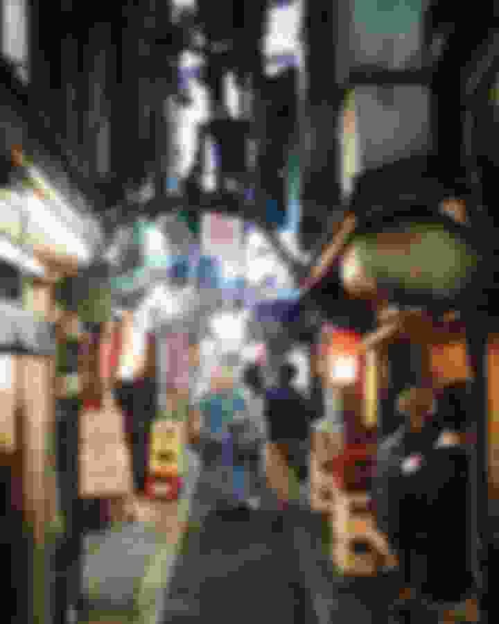 思想橫町 - Omoide Yokocho, Tokyo
