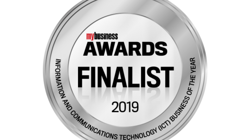 My Business Awards Finalist, 2019