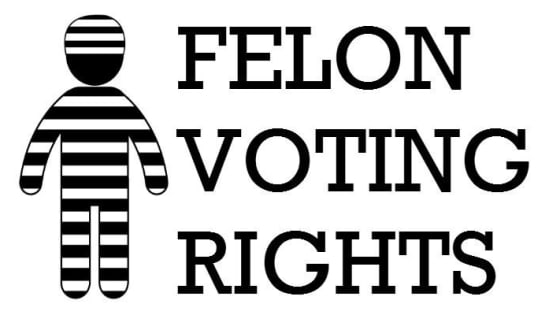 Image result for voting rights for felons