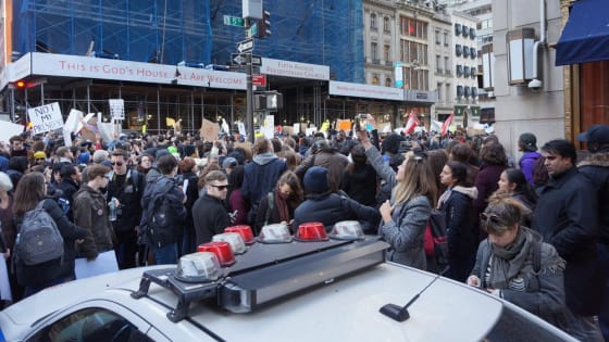 Let S All Agree On This Stop Blocking Traffic For Protests