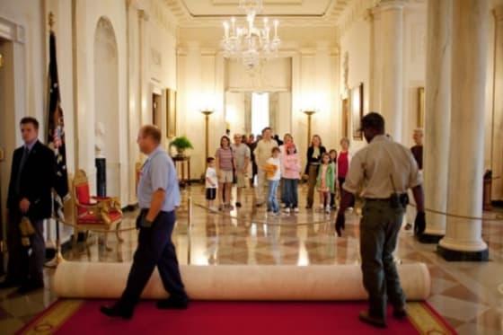 White house tour cuts