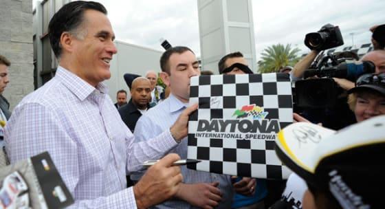 Romney_Daytona_500