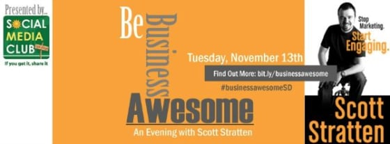 Be Business Awesome, with Scott Stratten