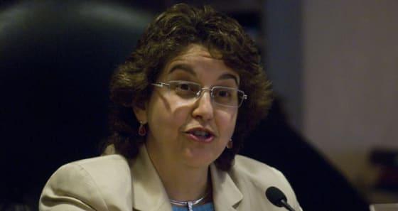 FEC Commissioner Ellen Weintraub // credit: Talking Points Memo