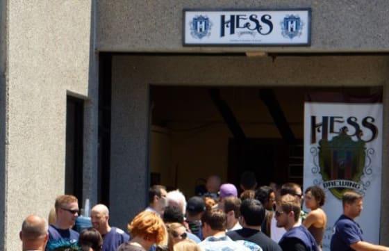 Hess Brewing in Mira Mesa