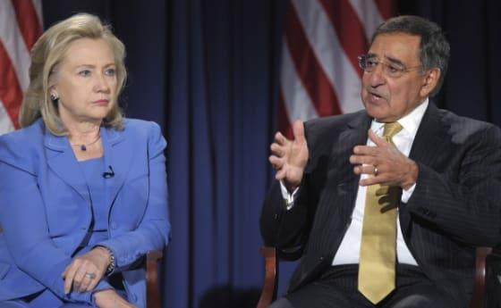 Hillary Clinton Leon Panetta