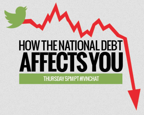 National Debt Tweet Chat