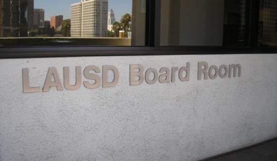 Los Angeles School Board Election Spending