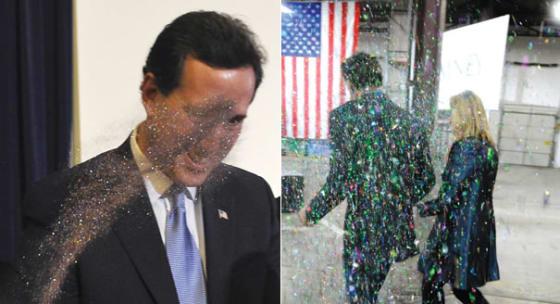 Romney_Santorum_Glitter_Bomb