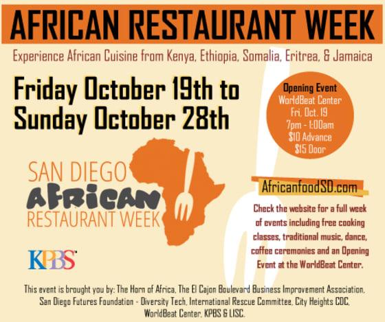 San Diego African Restaurant Week