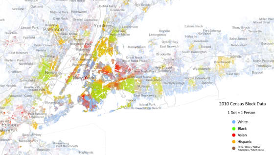 New York City Demographic Map