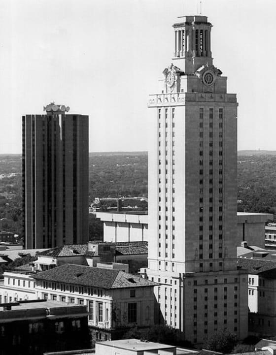University of Texas Tower // Credit: Larry D Moore 1980 Wikidpedia