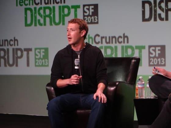 Zuckerberg TechCrunch Disrupt