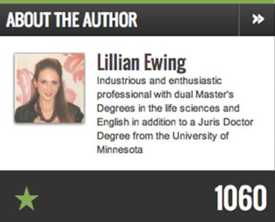 Profile of Lillian Ewing