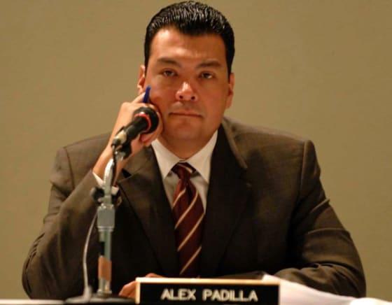 California State Senator Alex Padilla // Credit: voxxi.com