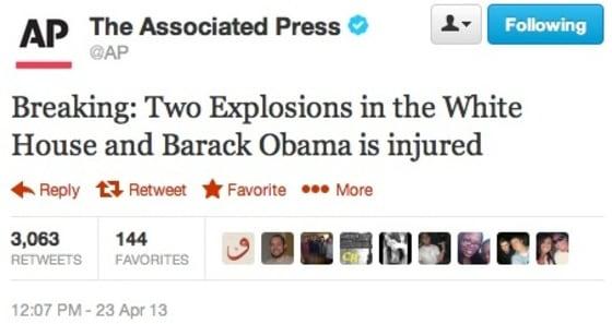 AP's Hacked Twitter