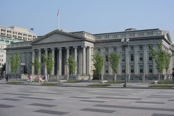 US Treasury Building // credit: mike_s_etc via Flickr