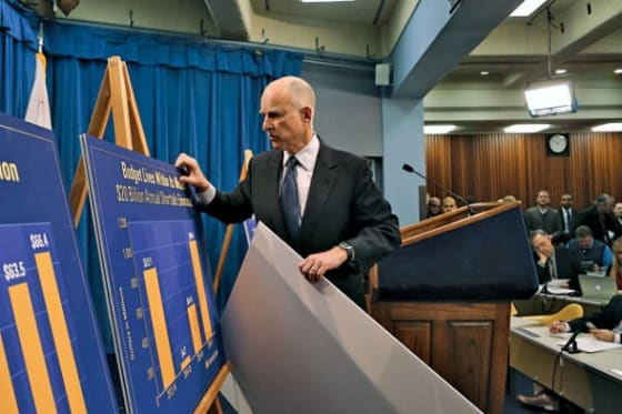 california budget surplus
