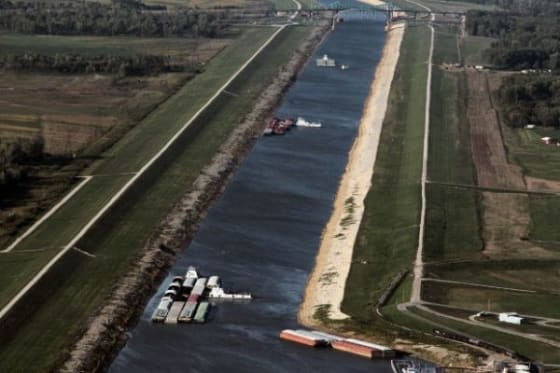 How Climate Change Is Affecting the Mississippi River Economy