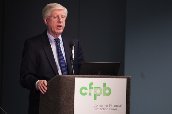 Iowa Attorney General Tom Miller discussed how the work of the CFPB and the consumer complaints we receive help his office serve consumers in Iowa. // Credit: CFPB flickr