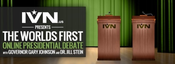 Presidential Debate with Governor Gary Johnson and Dr. Jill Stein