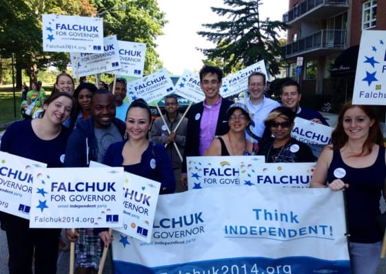 Evan Falchuk / United Independent Party