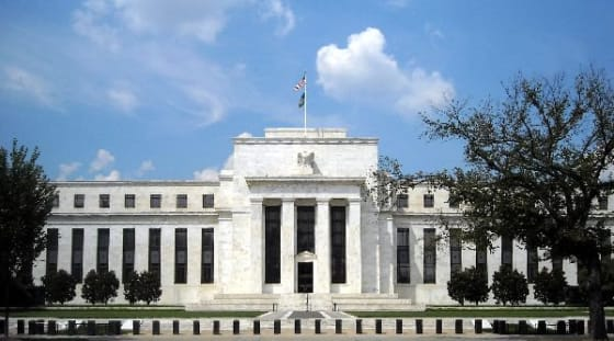 Federal Reserve Building in Washington DC // credit: wikipedia