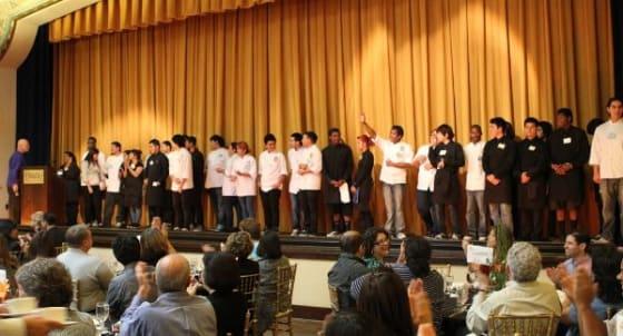 Garfield High School culinary arts students
