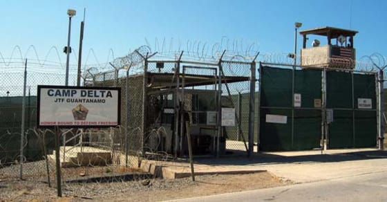 Guantanamo detention facility // Credit: wikimedia commons