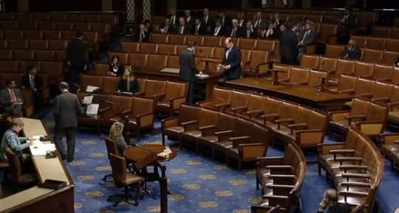Floor of the House of Representatives // Credit: boxden.com