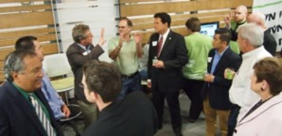 Attendees at the IVN San Diego Launch event