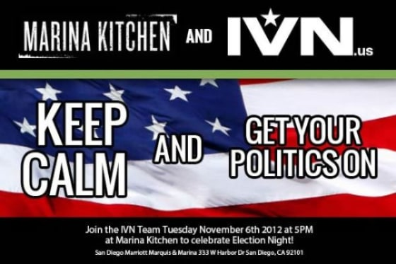 IVN to Host Election Night Party at Marina Kitchen