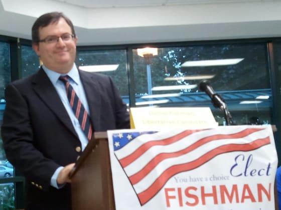 Dan Fishman, Libertarian for Congress