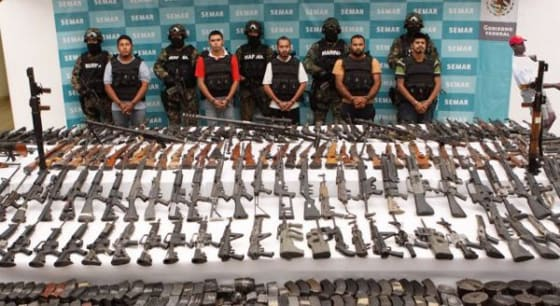 Fast and Furious weapons captured in Mexico's drug war
