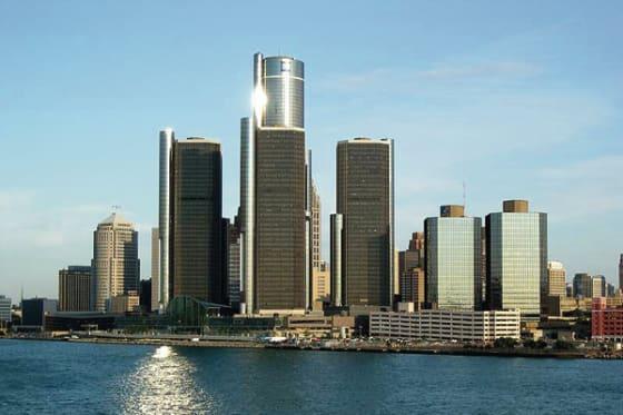 Detroit Skyline // credit: gm-volt.com