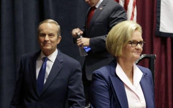 Claire McCaskill and Todd Akin in MO Senate Race