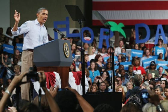 President Obama Wins Florida with the Independent Vote