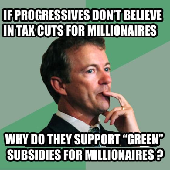 philosorandpaul green subsidies