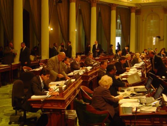 California Legislature // credit: California Progress Report