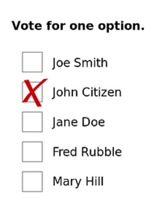 single-choice-voting