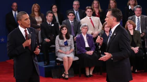 The presidential social media race tightens