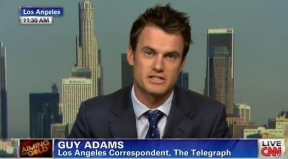 Guy Adams appearing on CNN