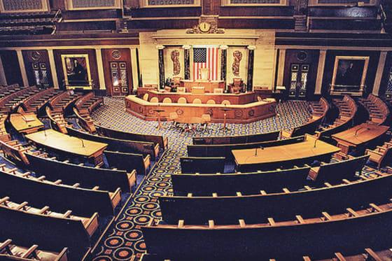 Empty House of Representatives // credit: westorlandonews