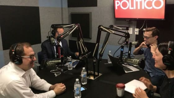 Image result for politico nerdcast