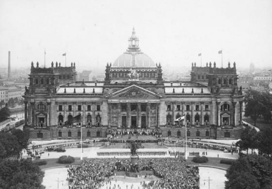 Reichstag in 1926 // Credit: German Federal Archives