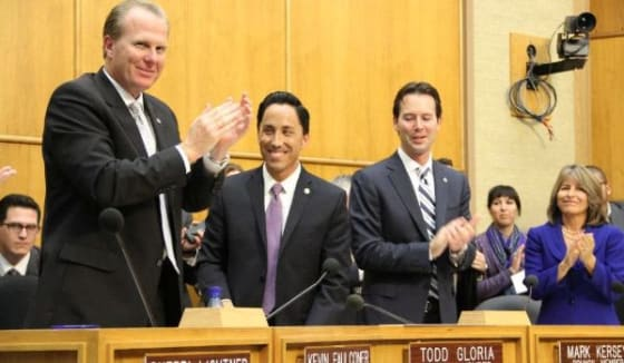 Todd Gloria elected council president